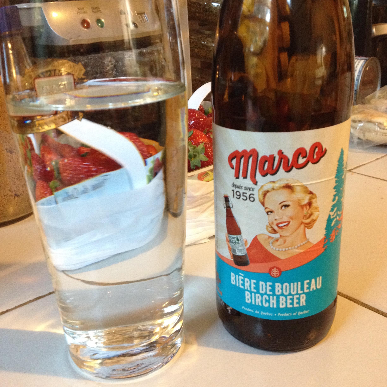 Bière de Bouleau Marco