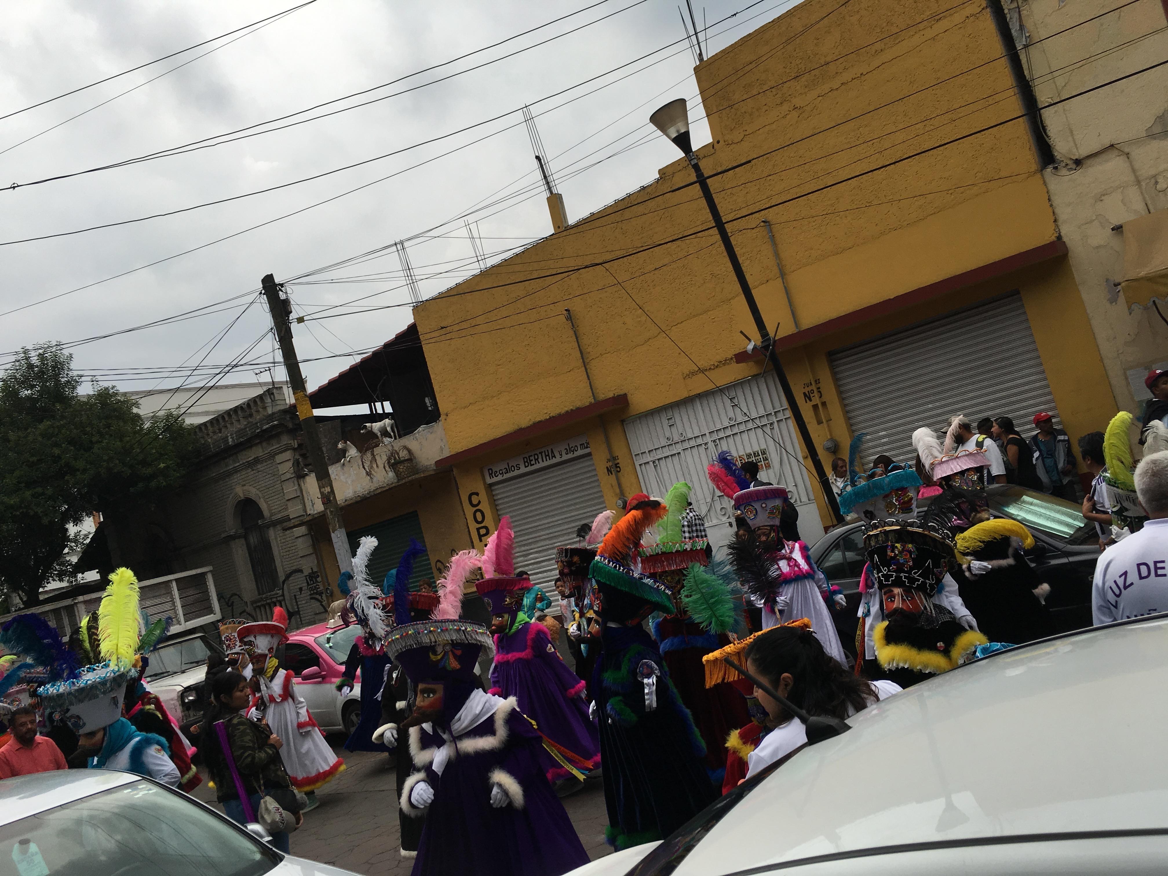 Folkloric dance in Xochimilco