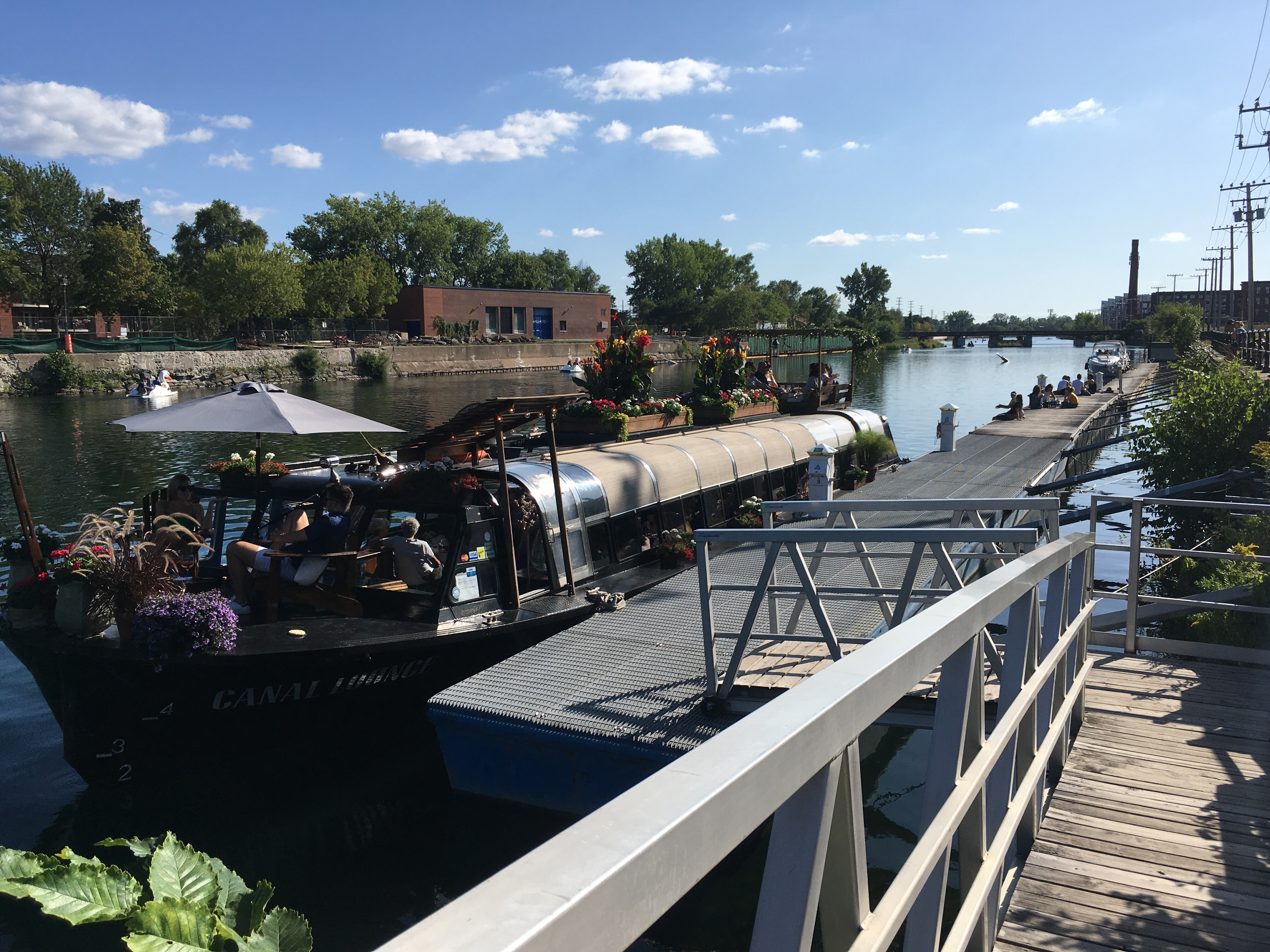 Cocktails on the Lachine Canal – Canal Lounge